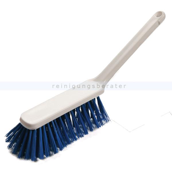 Handfeger HACCP Haug Hygienebesen ungeschlitzt blau 310 mm