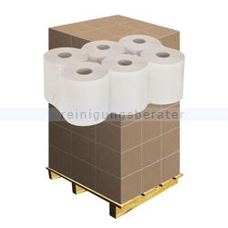 Handtuchrollen 2-lagig Innenauszug weiß, Palette