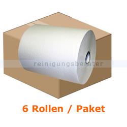 Handtuchrollen Autocut TAD, 6 Rollen, weiß 21 cm x 100 m