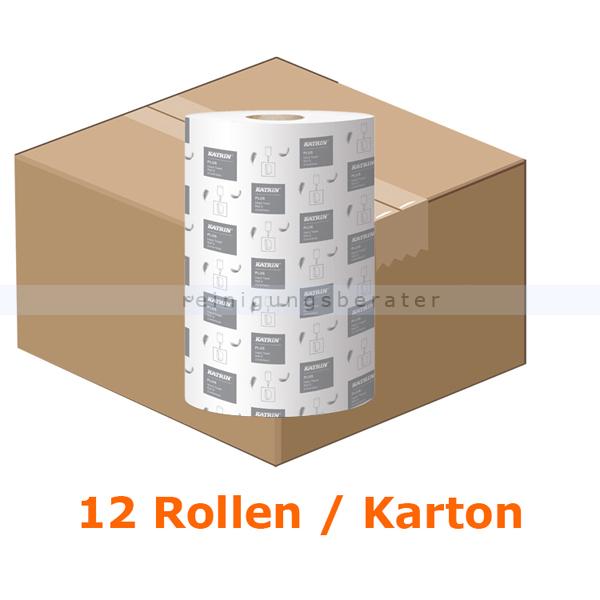 Handtuchrollen KATRIN Plus S 1-lagig hochweiß
