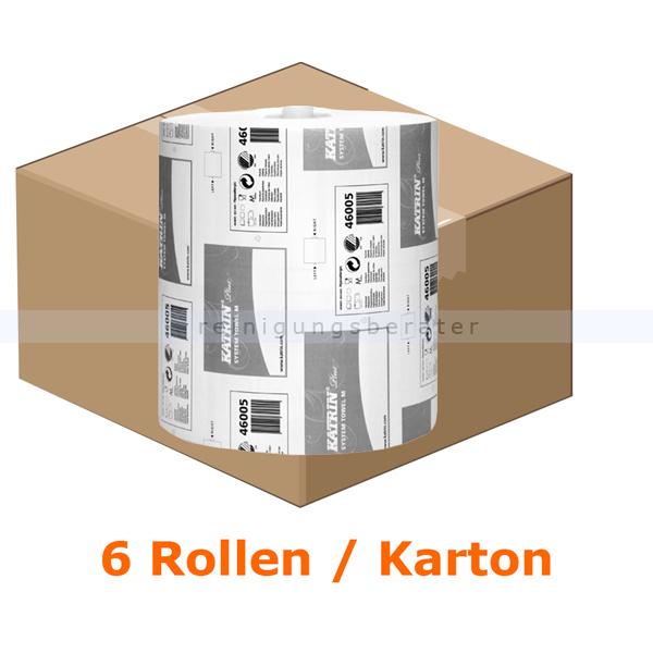 Handtuchrollen KATRIN Plus System 2-lagig hochweiß