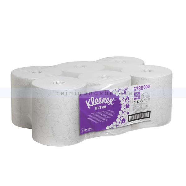Handtuchrollen Kimberly Clark KLEENEX® ULTRA Handtücher weiß