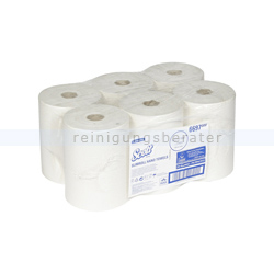 Handtuchrollen Kimberly Clark SCOTT® XL SLIMROLL Rolle Weiß