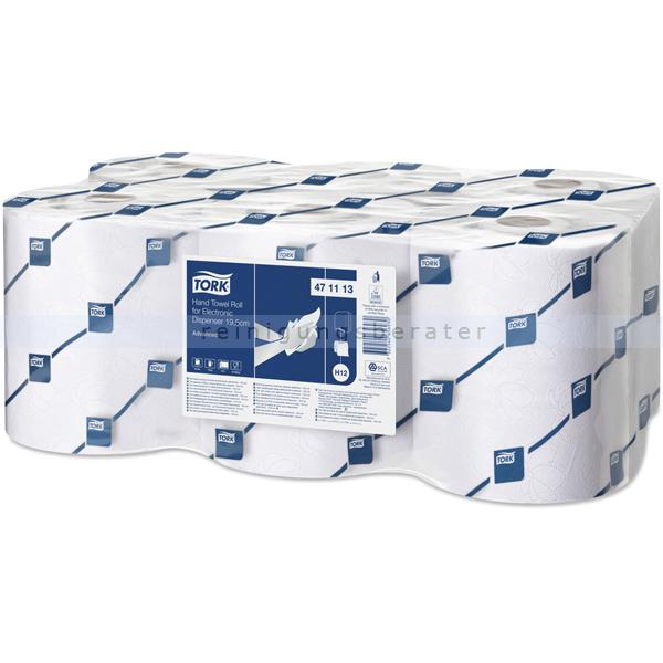 Handtuchrollen Lotus Handtücher weiß 143 m 6 Rollen/Paket, 2-lagig, passend Lotus Edelstahlspender