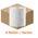 Zusatzbild Handtuchrollen Lotus NextTurn 6 Rollen, weiß 20 cm x 160 m
