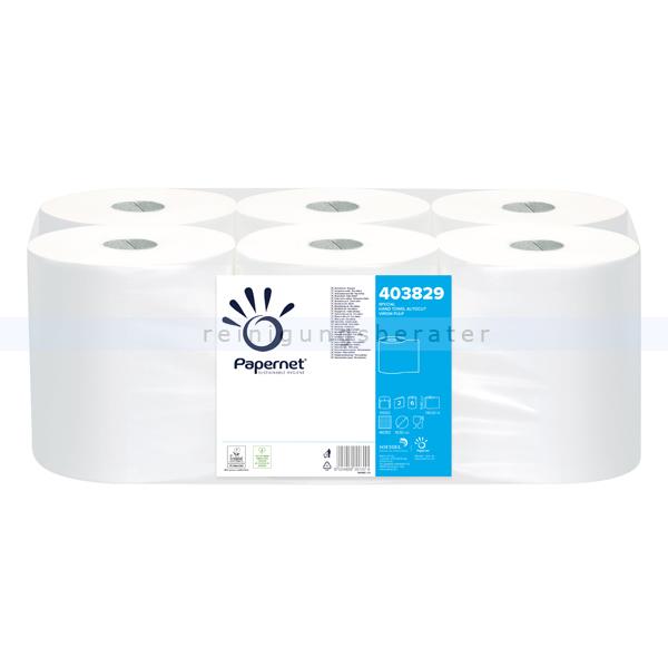Handtuchrollen Papernet Special weiß 198 mm x 140 m