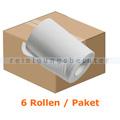 Handtuchrollen S3000, 6 Rollen, weiß 20 cm x 140 m