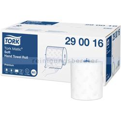 Handtuchrollen Tork Premium H1 Rollenhandtuch Weich, weiss