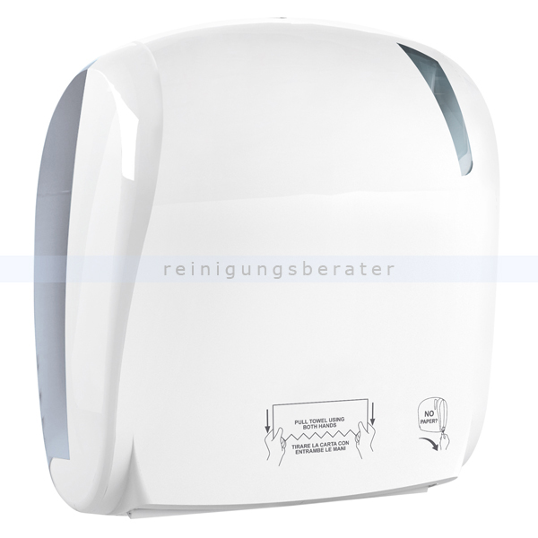 Handtuchrollenspender ADVAN 884 Papierrollenspender weiß