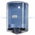 Handtuchrollenspender BASICA ABS blau-transparent