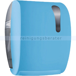 Handtuchrollenspender Easy Cut Color Edition Softtouch, blau