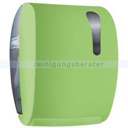 Handtuchrollenspender Easy Cut Color Edition Softtouch, grün