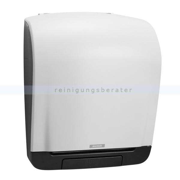 Handtuchrollenspender KATRIN Inclusive Kunststoff weiß