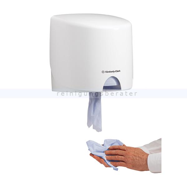 Handtuchrollenspender Kimberly Clark AQUARIUS (RCS) Weiß