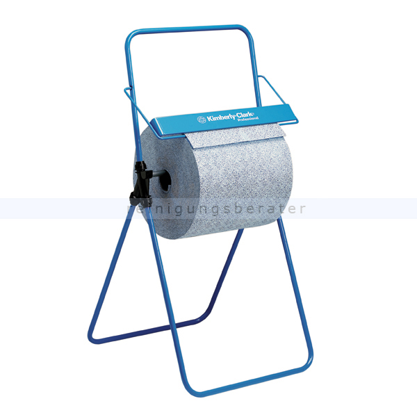 Handtuchrollenspender Kimberly Clark Bodenständer Blau