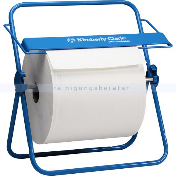 Handtuchrollenspender Kimberly Clark Wandhalter Blau