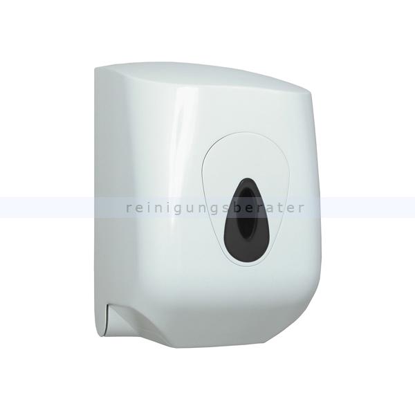 Handtuchrollenspender Midirollenspender Kunststoff weiß