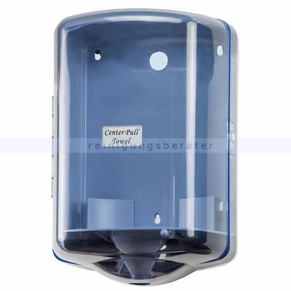 Handtuchrollenspender Orgavente BASICA ABS blau-transparent