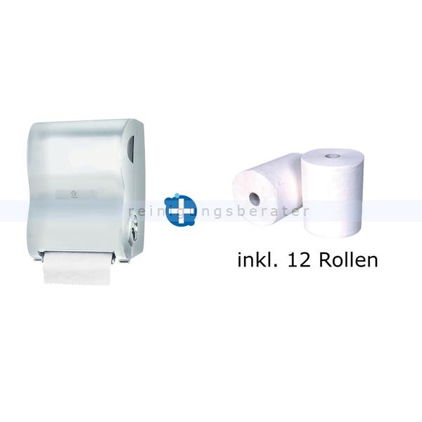Handtuchrollenspender Papernet Autocut im Set