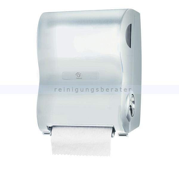 Handtuchrollenspender Papernet Autocut weiss