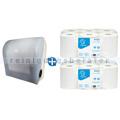 Handtuchrollenspender Papernet Mini Autocut im Set