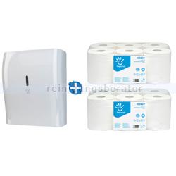 Handtuchrollenspender Papernet Superior Autocut im Set