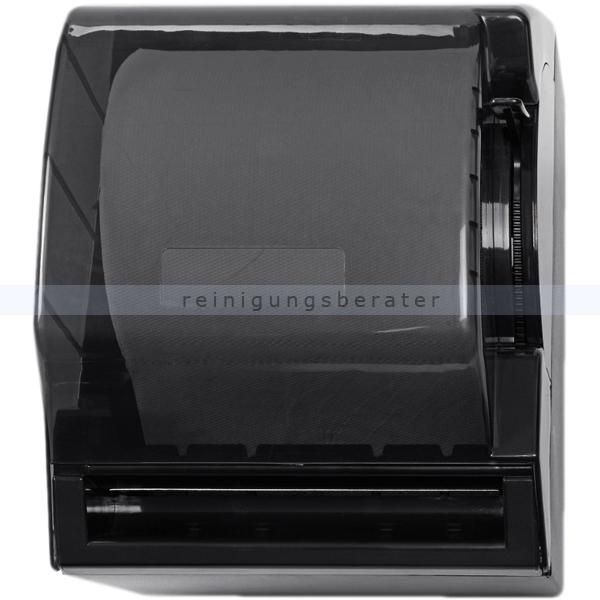 Handtuchrollenspender Quicky® Papierrollenspender schwarz