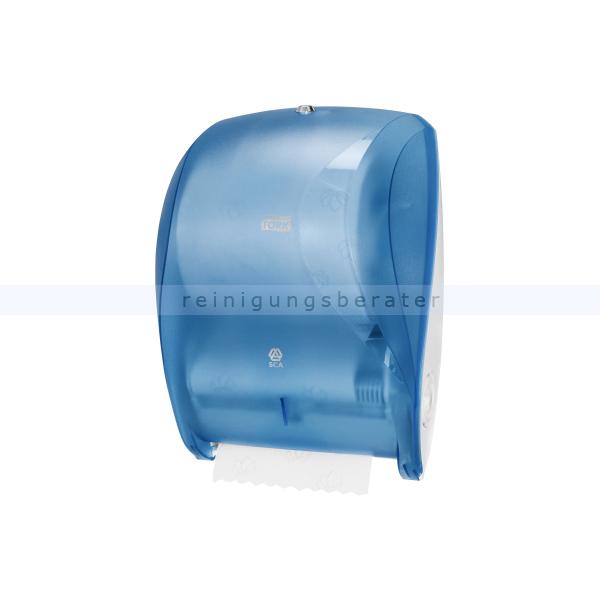 Handtuchrollenspender SCA für Rollenhandtücher 19,5 cm blau
