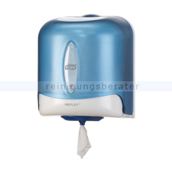 Handtuchrollenspender SCA Tork Reflex, Tork Wave, blau