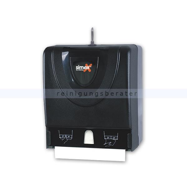 Handtuchrollenspender Simex Black Line