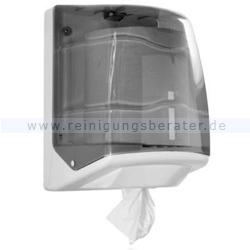 Handtuchrollenspender Steiner Maxi Line grau