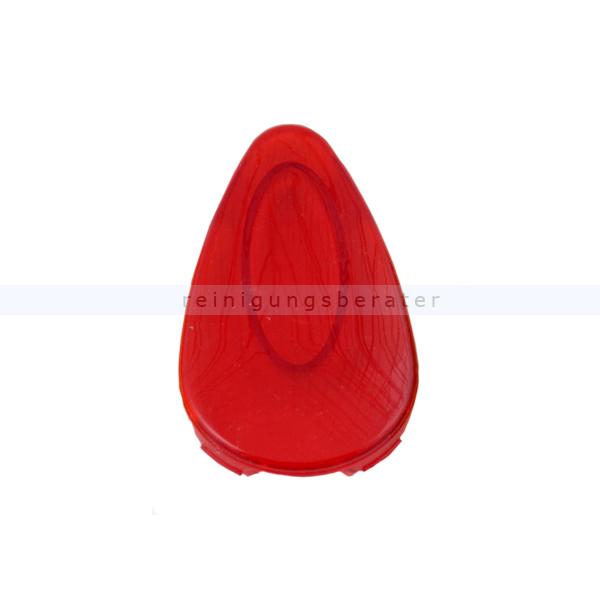 Handtuchspender All Care Kunststoff Sichtfenster rot