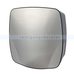 Handtuchspender groß Edelstahl/Kunststoff