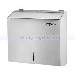 Handtuchspender Impeco Mini gebürsteter Edelstahl