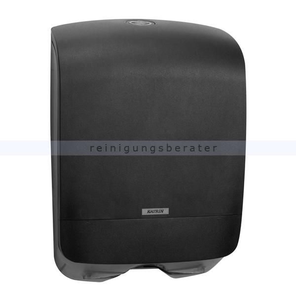 Handtuchspender KATRIN Inclusvie Mini Kunststoff schwarz