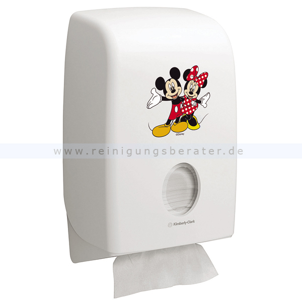 Handtuchspender Kimberly Clark Aquarius Interfold Disney weiß