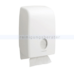 Handtuchspender Kimberly Clark AQUARIUS Interfold Weiß
