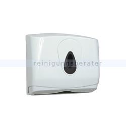 Handtuchspender mini Kunststoff weiß