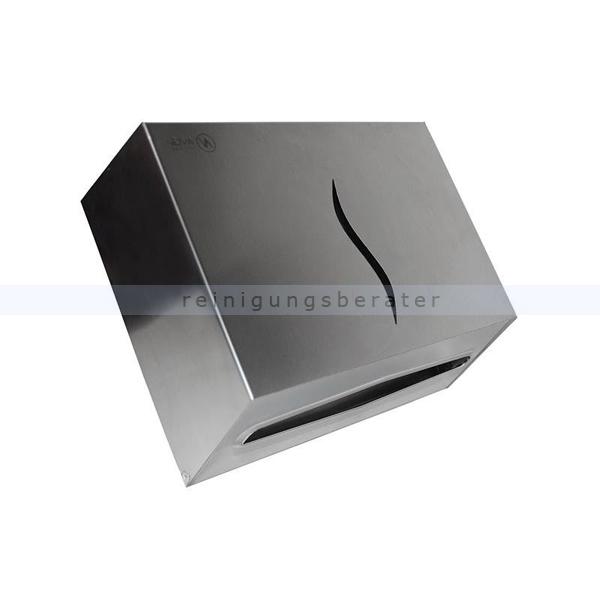 Handtuchspender Sarp aus Edelstahl für V-Falz 200 Blatt