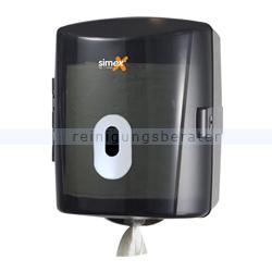 Handtuchspender Simex Elegance ABS schwarz-transparent