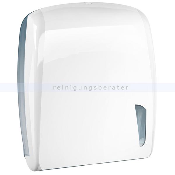 Handtuchspender SKIN LINE Kunststoff weiß