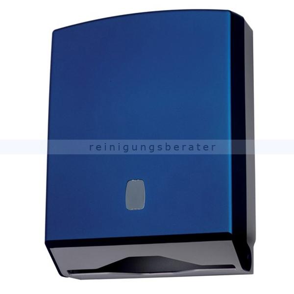 Handtuchspender VANITY ABS Soft-touch blau