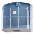 Handtuchspender WAVE ABS/SAN grau-blau transparent