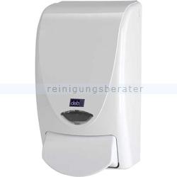 Handwaschmittelspender DEB Weiß 1 L
