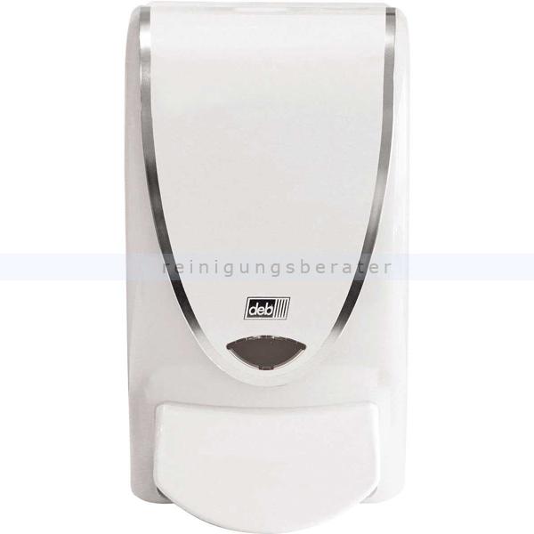 Handwaschmittelspender DEB Weiß und Chrom 1 L