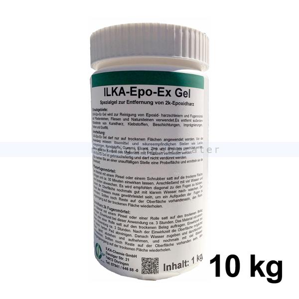 ILKA Chemie Harzentferner ILKA Epo-Ex Gel 10 kg Spezialgel zur Entfernung von 2k-Epoxidharz 412010