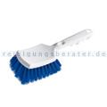 Haug Autowaschbürste Auto-Stielbürste mit kurzem Griff blau