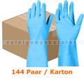 Haushaltshandschuhe Ampri Clean Comfort M blau Karton