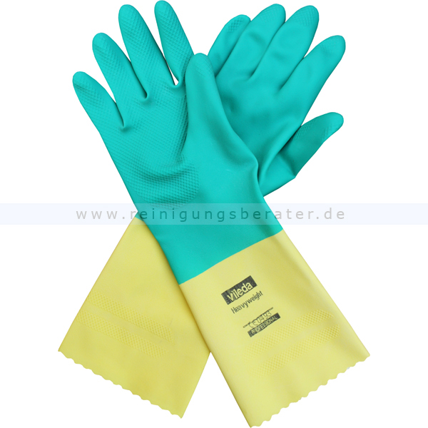 Vileda Handschuh Der Robuste - Heavyweight L Latex-Arbeitshandschuhe Gr.Gr. 8,5 - 9 120261