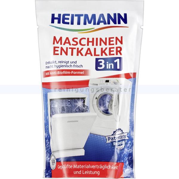 Brauns Heitmann Maschinen-Entkalker 3 in 1 175 g Entkalker für Geschirrspüler oder Waschmaschine 3364